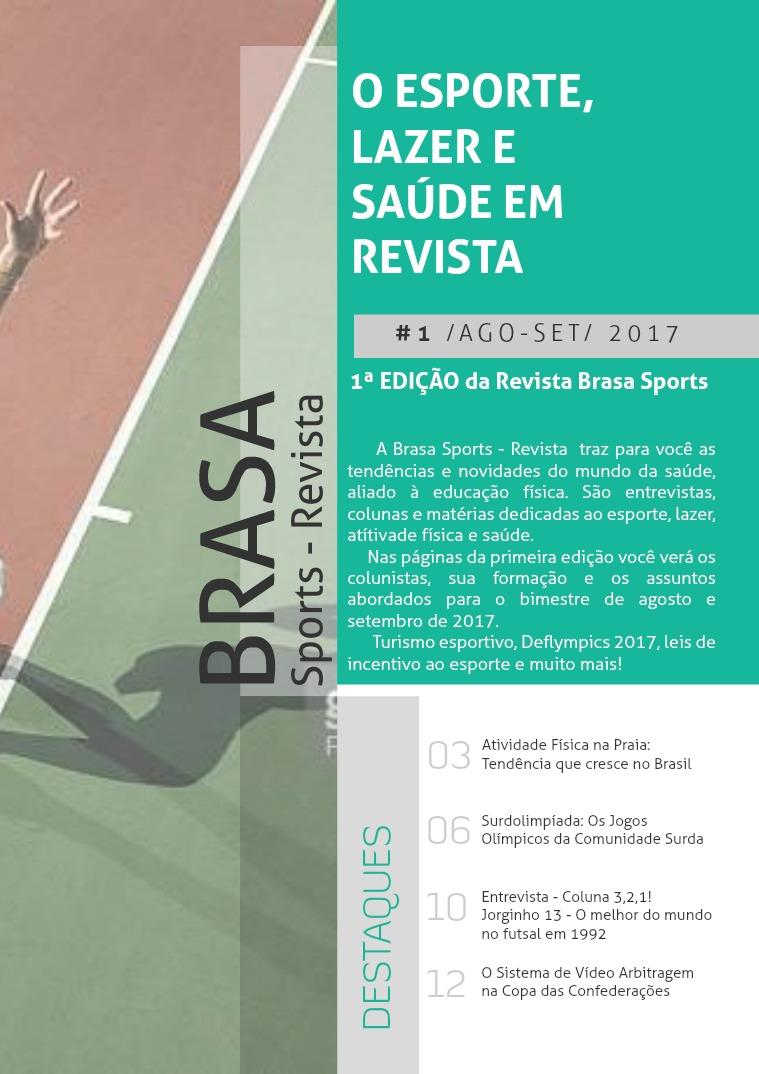 Brasa Sports - Revista 1ª Edição - Ago/Set 17