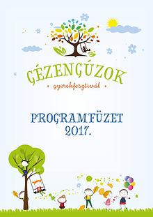 Gézengúzok Gyerekfesztivál 2017 programfüzet