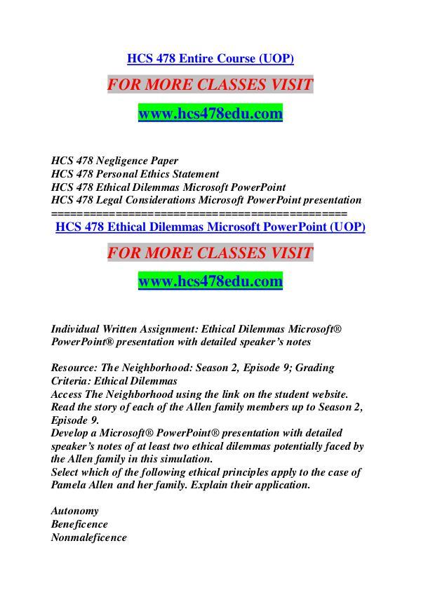 HCS 478 EDU Keep Learning /hcs478edu.com HCS 478 EDU Keep Learning /hcs478edu.com