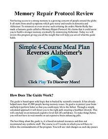 Memory Repair Protocol PDF / Book Free Download