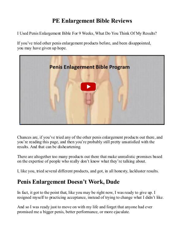 PE Bible PDF Free Download PE Bible Exercises Free Download