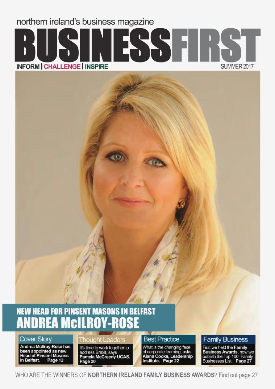 Business First Summer 2017 Business First Magazine Summer 2017