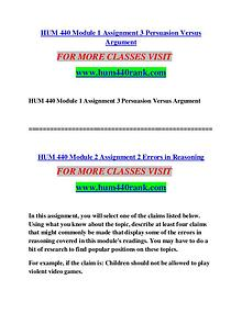 HUM 440 RANK Imagine Your Future /hum440rank.com