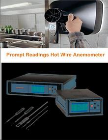 Prompt Readings Hot Wire Anemometer