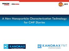 A New Nanoparticle Characterization Technology for CMP Slurries