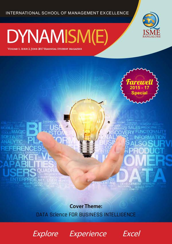 DYNAMISM(E) - Biannual Student Magazine June-2017