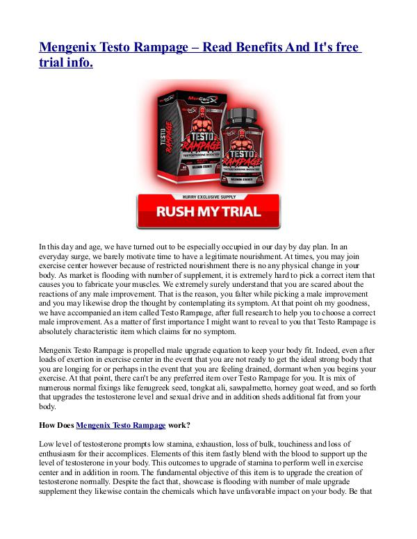Xcell 180 Testosterone Booster – Natural & Advanced Muscle Boosting S Mengenix Testo Rampage – Read Benefits And It's fr