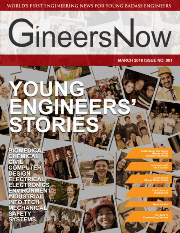 Social Good Engineering Magazine: GineersNow Social Innovation GineersNow Engineering Magazine Issue No. 001