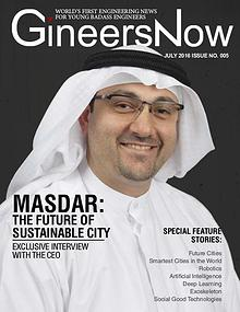 Masdar Smart City and Robotics - GineersNow Engineering Magazine