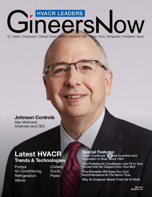 Johnson Controls (JCI) HVACR Trends - GineersNow Engineering Magazine Key Trends Making Our Cities Greener & Smarter