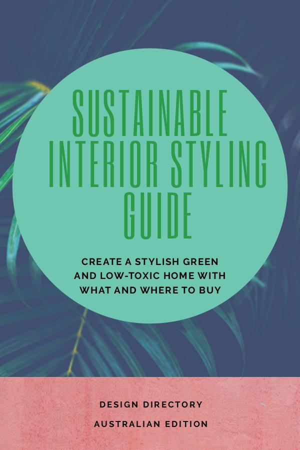 Sustainable Interior Styling Guide and Design Directory 1