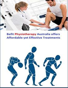 Befit Physiotherapy Australia offers Affordable Effective Treatments
