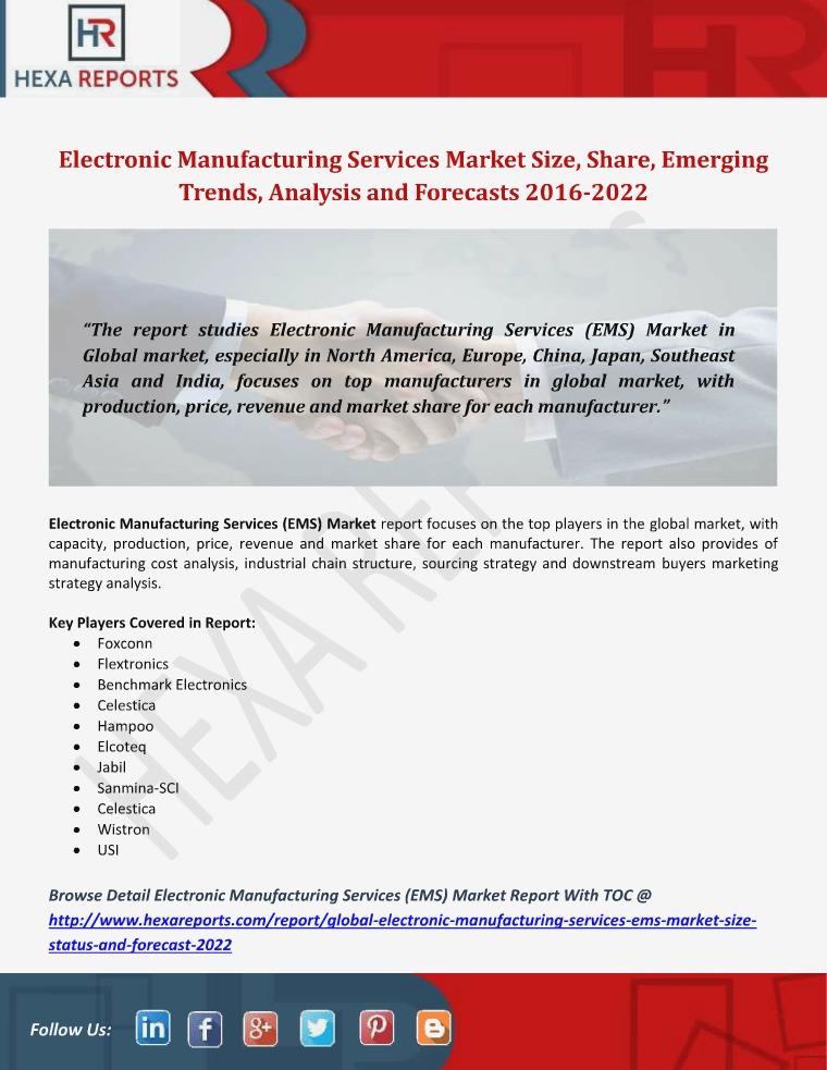 Electronic Manufacturing Services (EMS) Market Siz