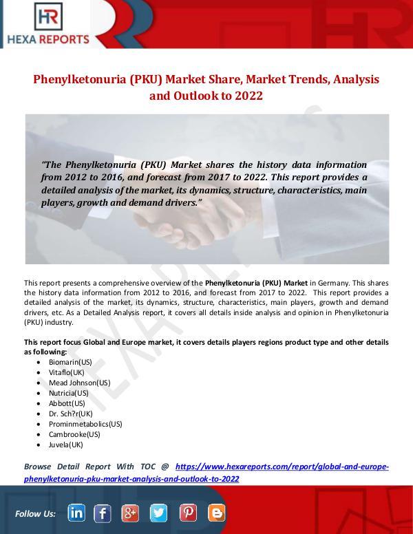 Phenylketonuria (PKU) Market Share, Market Trends,
