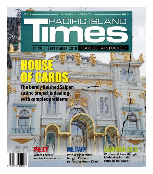 Pacific Island Times Pacific Island Times Vo. 3 No. 9