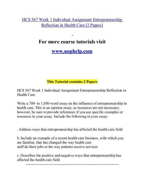 HCS 567 help Minds Online/uophelp.com HCS 567 help Minds Online/uophelp.com