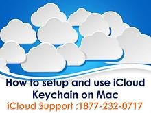 How to setup and use i cloud keychain on mac?