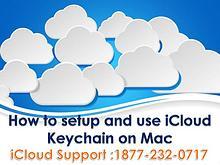 How to setup and use i cloud keychain on mac?