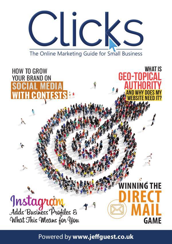 Clicks Internet Marketing Magazine for Small Business Clicks Magazine 32