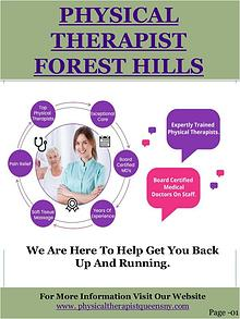 Forest hills ny physical therapy