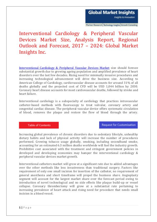 GMI Interventional Cardiology & Peripheral Vascular De