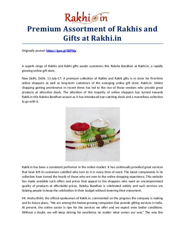 Premium Assortment of Rakhis and Gifts at Rakhi.in Premium Assortment of Rakhis and Gifts at Rakhi.in