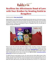 Premium Assortment of Rakhis and Gifts at Rakhi.in