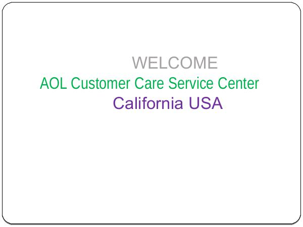 AOL customer support phone number +1-855-490-2999 AOL_Customer_care_service