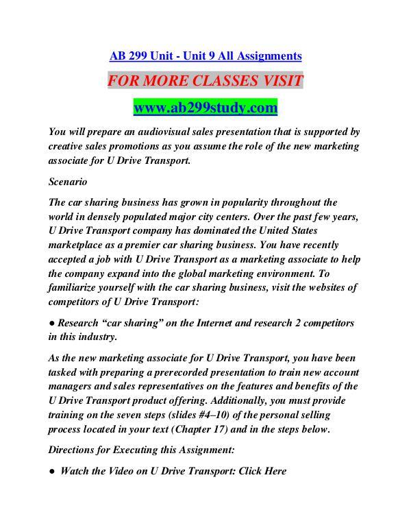 AB 299 STUDY Extraordinary Success/ab299study.com AB 299 STUDY Extraordinary Success/ab299study.com
