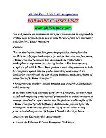 AB 299 STUDY Extraordinary Success/ab299study.com
