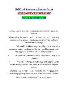 AB 213 STUDY Extraordinary Success/ab213study.com