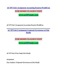 AC 557 STUDY Extraordinary Success/ac557study.com