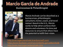 Marcio Garcia de Andrade - Businessman & Philanthropist