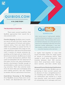 How Data Integration Helped QuiBids.com - A VL Case Study