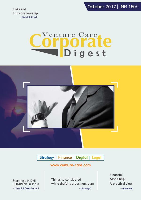 Corporate Digest Magazine- October/2017 Corporate-Digest-magazine-october