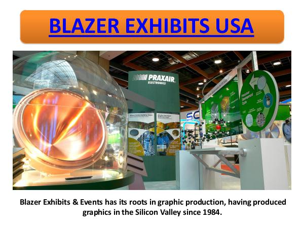 Blazer Exhibits and Events, Inc Blazer Exhibits USA