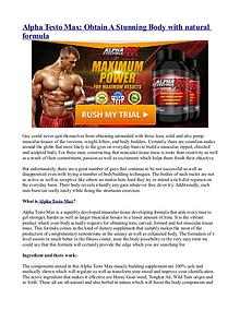 XCell 180- New Natural & Powerful Testo Booster with Free Trial