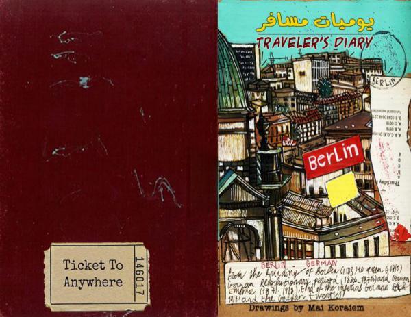 the blue tram  Magazine Mai koraiem book