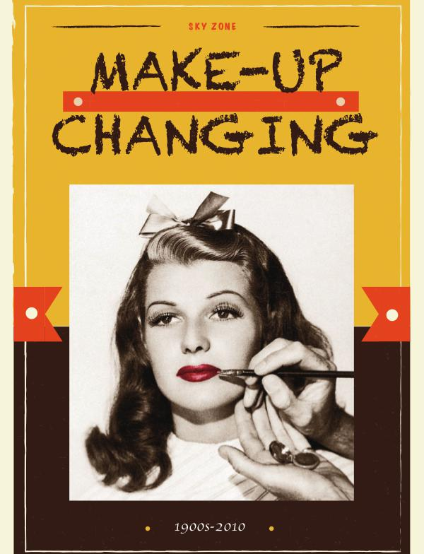 Make-up Changing make up magazine
