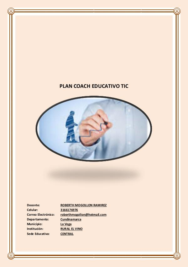 COACH EDUCATIVO PLAN COACH EDUCATIVO TIC 2
