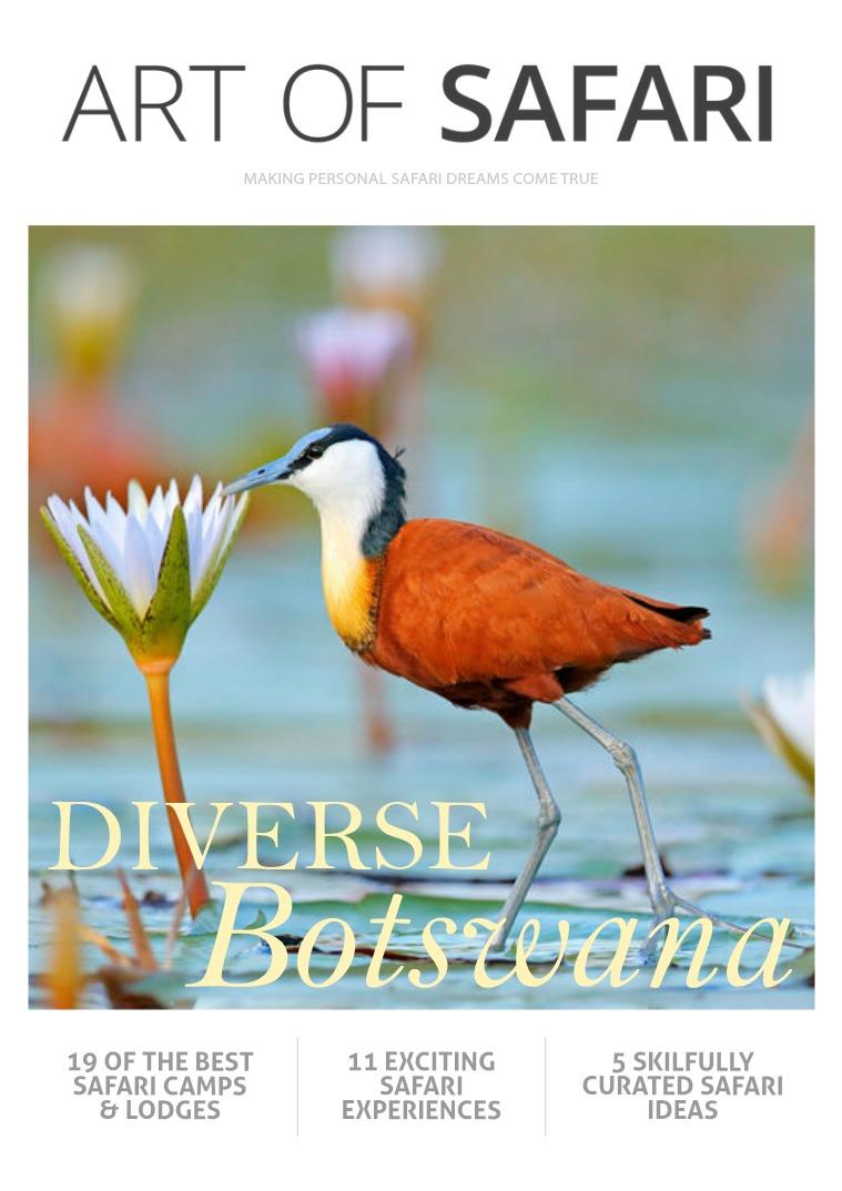 ART OF SAFARI MAGAZINE Diverse Botswana