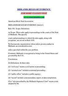 MIDLANDS RULES OF EVIDENCE / TUTORIALOUTLET DOT COM