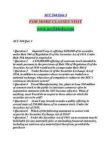 ACC 544 EDU Extraordinary Success/acc544edu.com