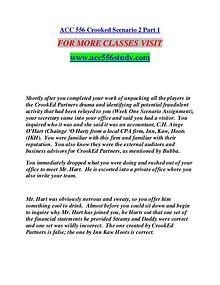 ACC 556 STUDY Extraordinary Success/acc556study.com