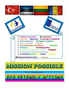 Mission possible ECO FRIENDLY ACTIONS