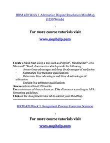 HRM 420 help Minds Online/uophelp.com