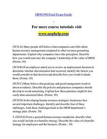 HRM 590 help Minds Online/uophelp.com