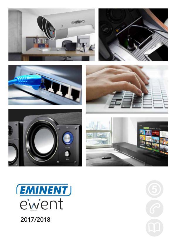 EWEM Company Profile & Catalogue Eminent Ewent Catalogue 2017/2018
