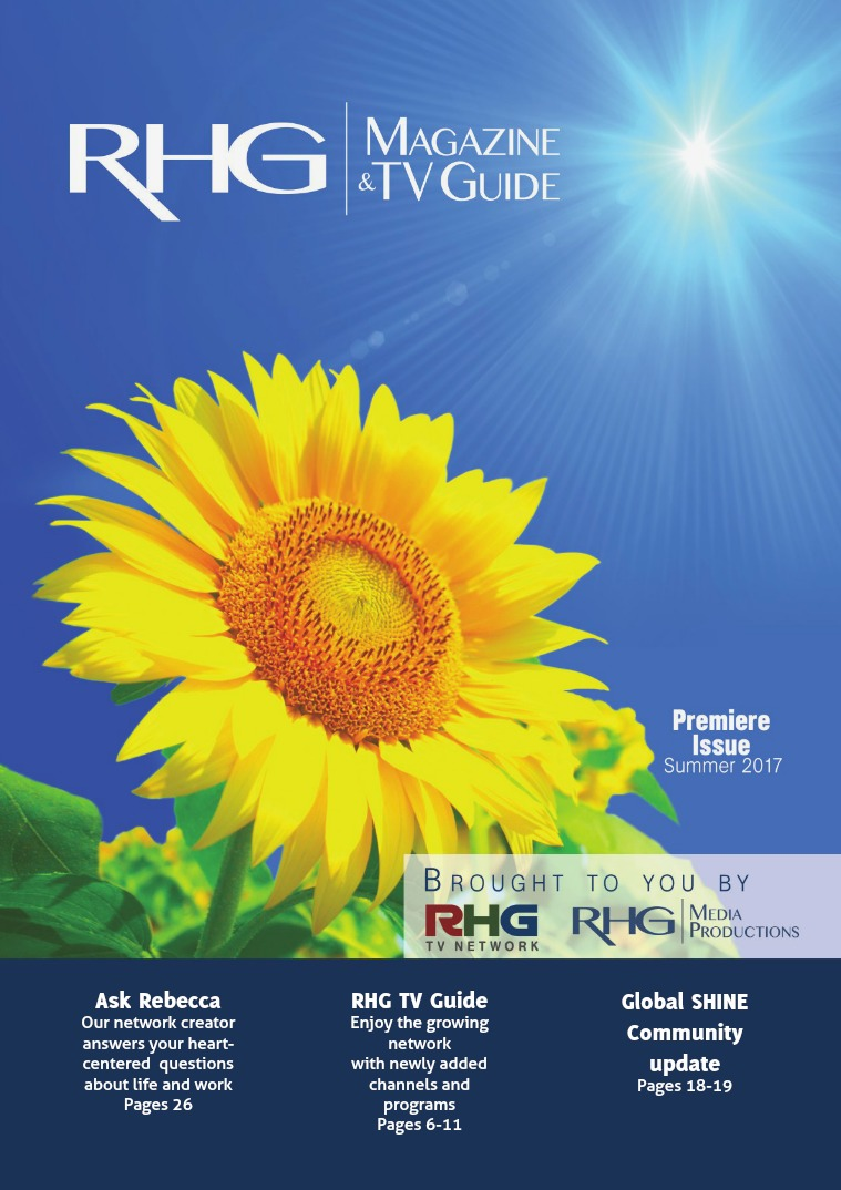 RHG Magazine & TV Guide Summer 2017