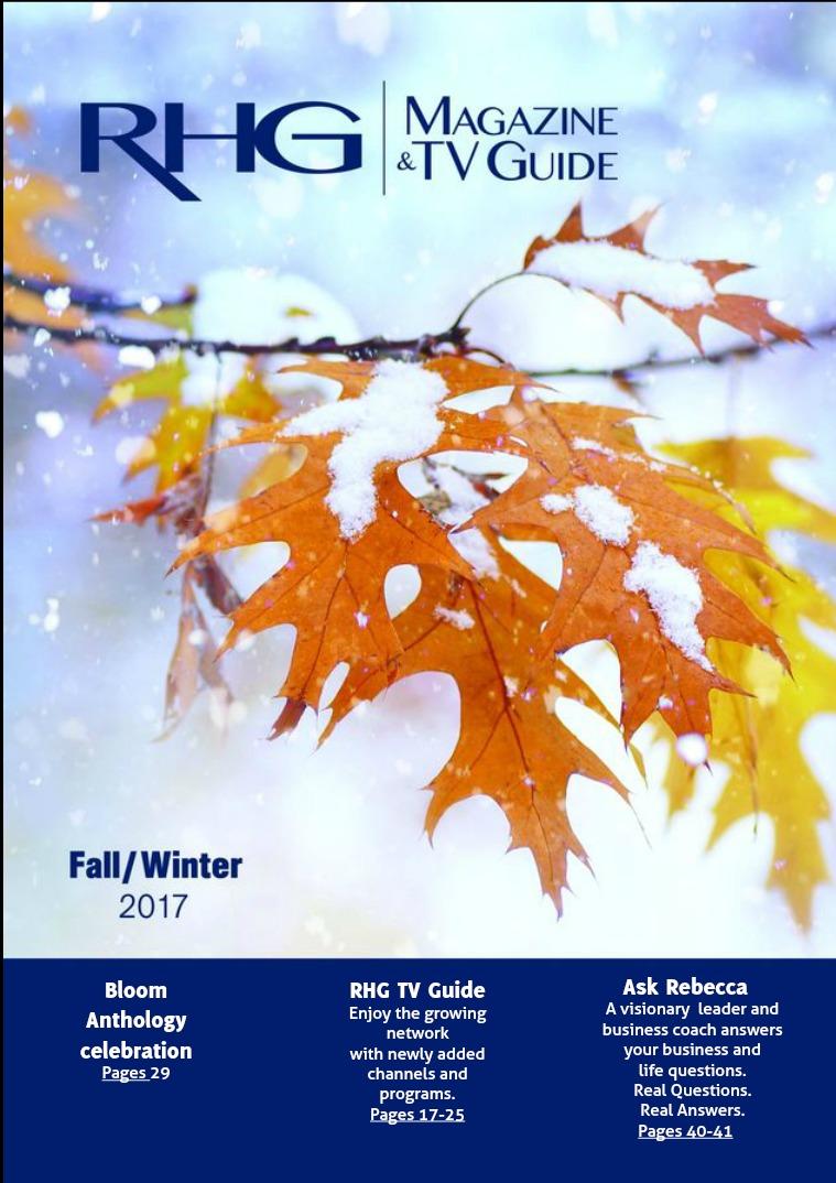 RHG Magazine & TV Guide Fall 2017